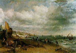 John Constable - Chain Pier, Brighton