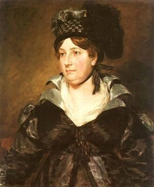 John Constable - Mrs. James Pulham, Sr. (or Frances Amys)