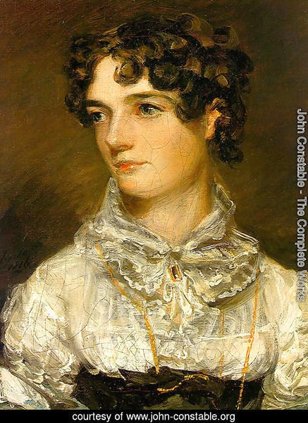 Maria Bicknell (or Mrs John Constable)