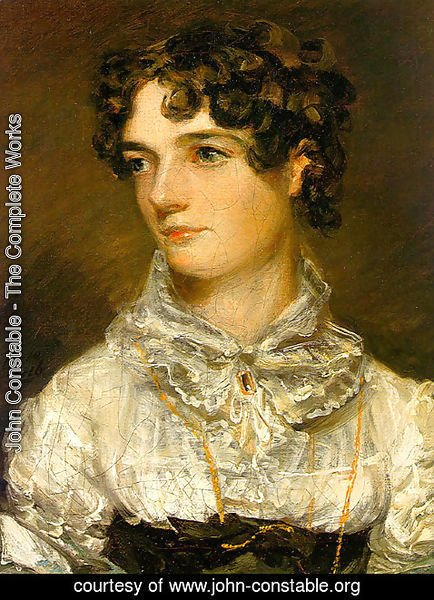 John Constable - Maria Bicknell (or Mrs John Constable)