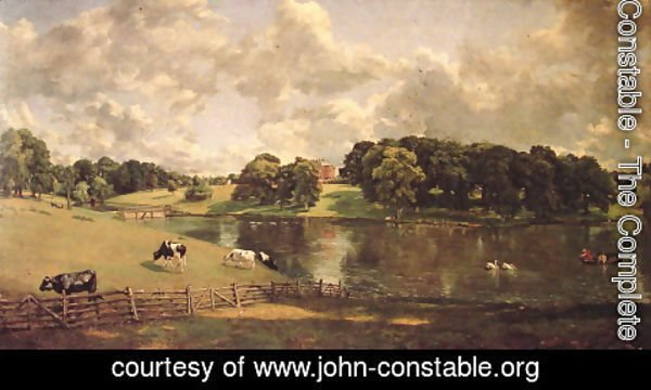 John Constable - Wivenhoe Park, Essex