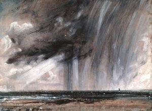 Rainstorm over the Sea, c.1824-28