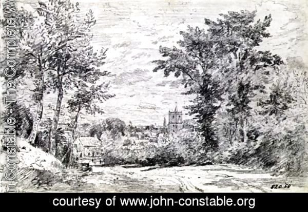 John Constable - The Entrance into Gillingham, Dorset