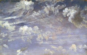 John Constable - Study of Cirrus Clouds