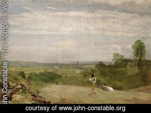 John Constable - Summer Morning  Dedham from Langham