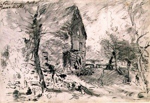 John Constable - Watermill at Newbury