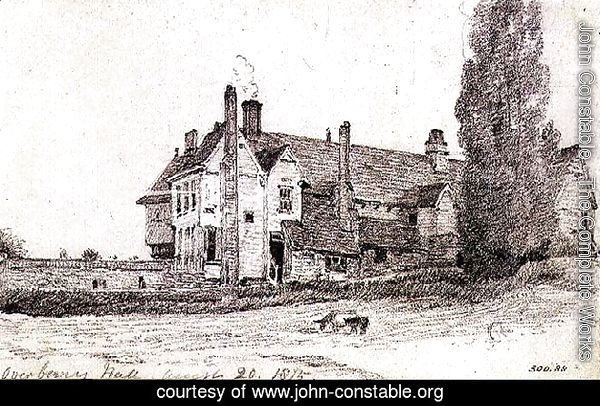Overbury Hall, Suffolk, 1815