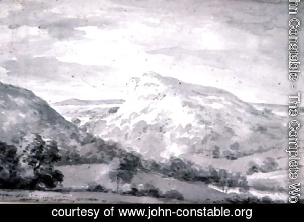 John Constable - Matlock High Tor