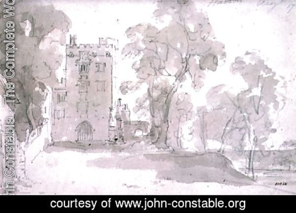 John Constable - Haddon Hall