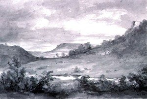 John Constable - Matlock High Tor 2