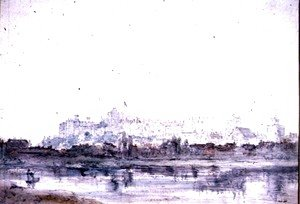John Constable - Windsor Castle from the River 2