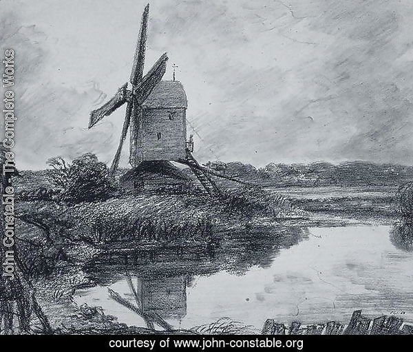 A mill on the banks of the River Stour