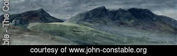 John Constable - Saddleback and Part of Skiddaw, from Lonscale Fell, 21 September 1806