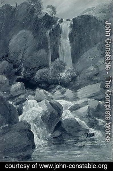 John Constable - Taylor Ghyll, Sty Head, Borrowdale, 1806