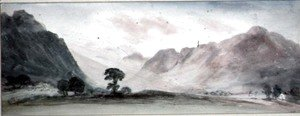 John Constable - View in Borrowdale 2