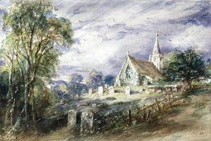 John Constable - Stoke Poges Church