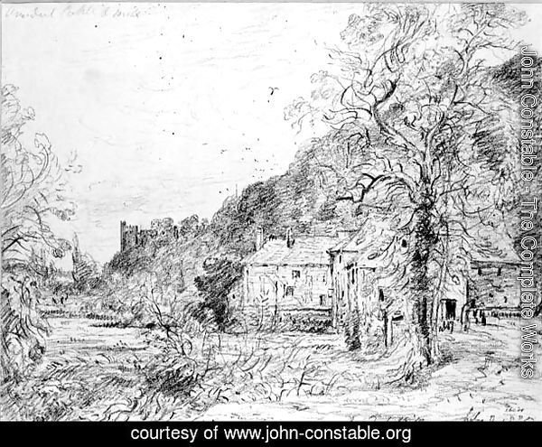 Arundel Mill and Castle, 1835