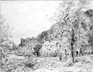 John Constable - Arundel Mill and Castle, 1835