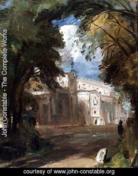 John Constable - The Church at East Bergholt