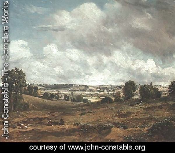 John Constable - Dedham Vale from East Bergholt
