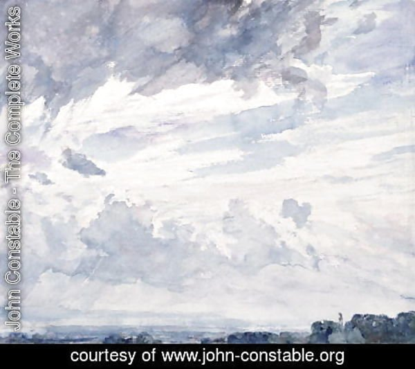 John Constable - Cloud Study
