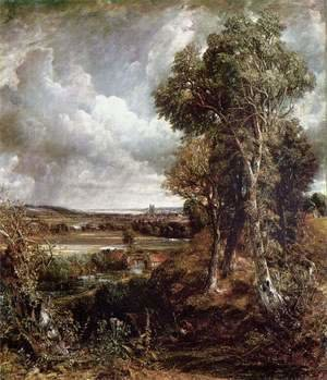 John Constable - Vale of Dedham, 1828