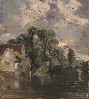 John Constable - Willy Lot's Cottage, near Flatford Mill
