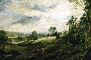 John Constable - A Summer Evening