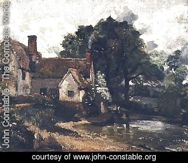 John Constable - Willy Lott's House, 1816