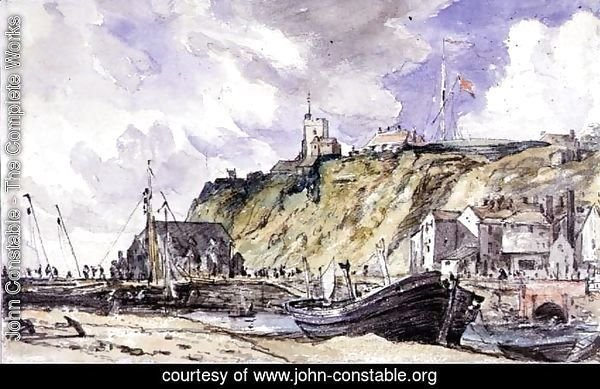 The Harbour, Folkestone, 1833,