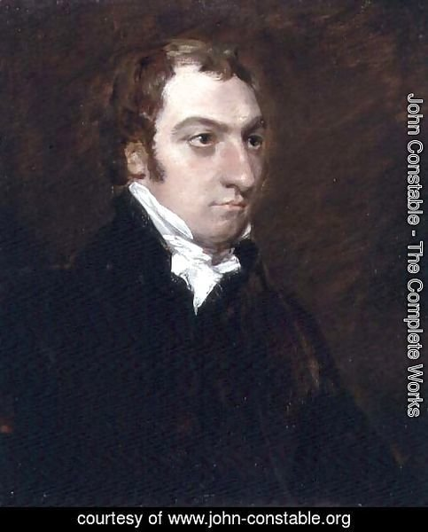 Portrait of John Fisher, Archdeacon of Berkshire, 1816