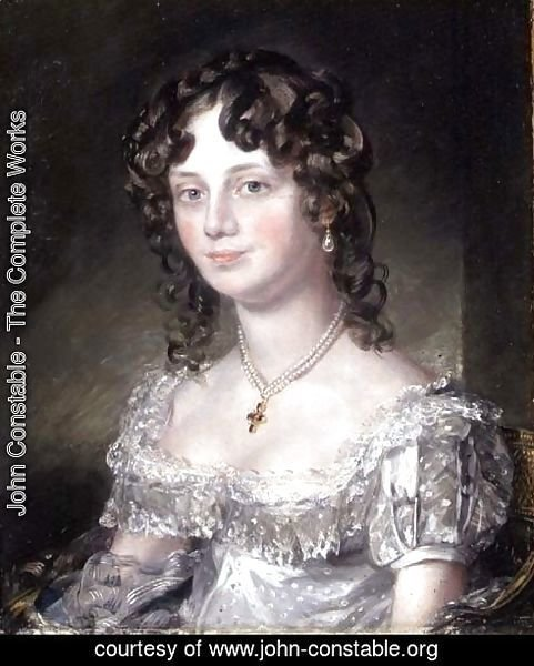 Portrait of Mrs Mary Fisher, wife of John Fisher, Archdeacon of Berkshire, 1816