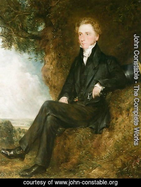 John Constable - Portrait of Dr Thomas Simcox Lea, c.1828