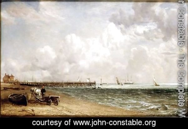 John Constable - Yarmouth Jetty
