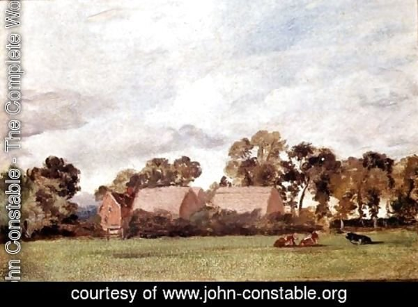 John Constable - A Suffolk Landscape