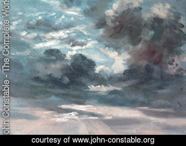 John Constable - Cloud Study 2