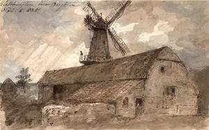 John Constable - Blatchington near Brighton, 1825