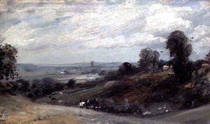 John Constable - Dedham Vale from Langham