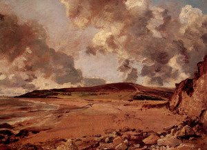John Constable - Weymouth Bay with Jordan Hill, c.1816