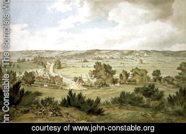 John Constable - The Valley of the Stour