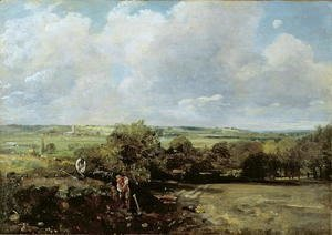 John Constable - The Vale of Dedham, 1814