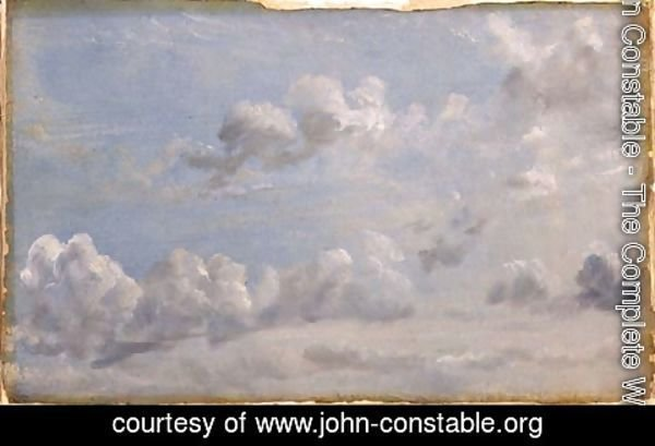 John Constable - Study of Cumulus Clouds, 1822