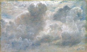 John Constable - Study of Cumulus Clouds, 1822 (2)