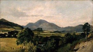 John Constable - Lake District Scene