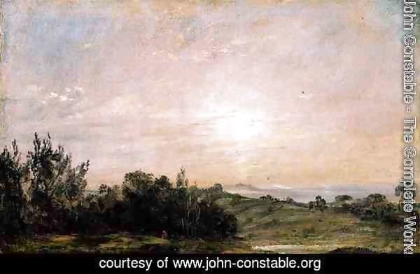 Hampstead Heath, looking towards Harrow, 1821-22