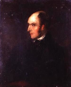 John Constable - Portrait of a Balding Man