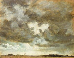 John Constable - A Cloud Study