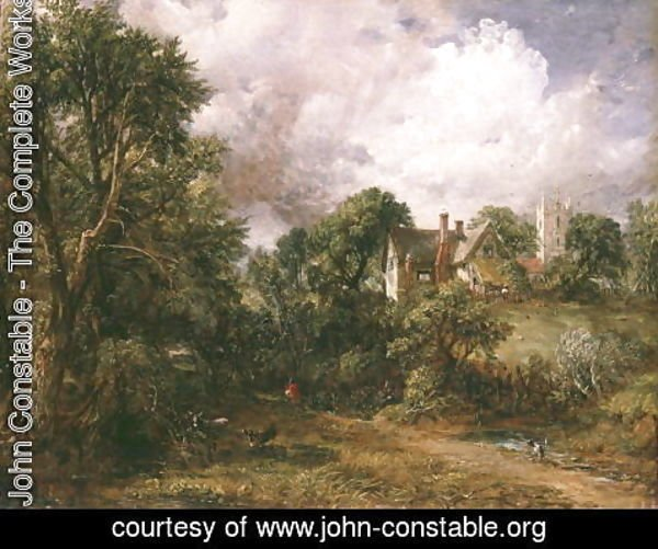 John Constable - The Glebe Farm, 1827