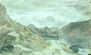 John Constable - The Lake District, c.1830