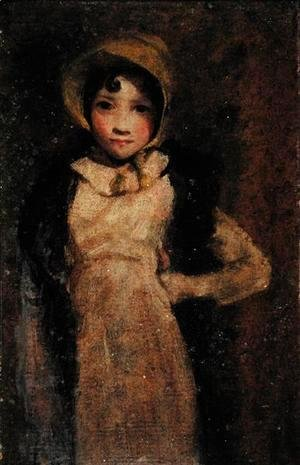 John Constable - A Girl, thought to be the artist's daughter